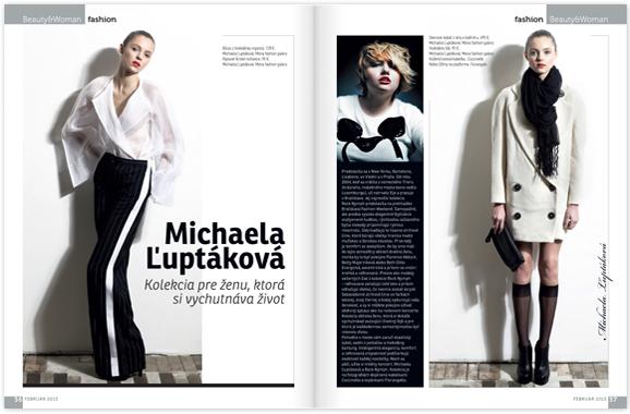 a05246b04f Jej najnovšiu kolekciu Rock Nymph predstavila na prehliadke Bratislava  Fashion Weekend.
